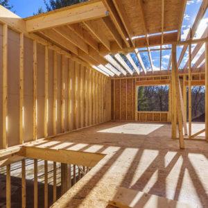 Costruzione di case in legno